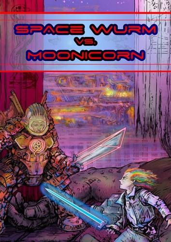 Space Wurm vs. Moonicorn